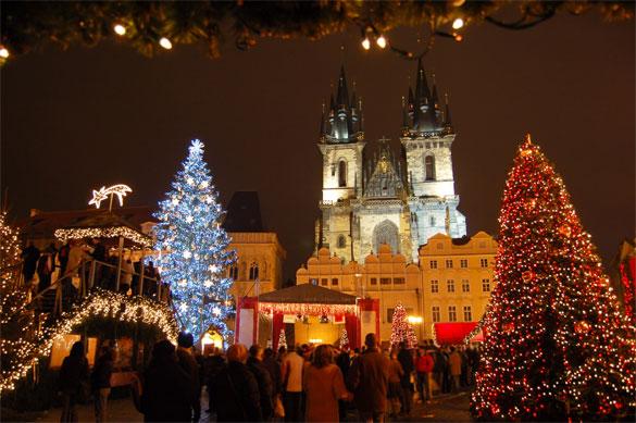 Столь же потрясающий, как любой другой, пражский базар может конкурировать с любым рождественским базаром в мире. Фото: © Jiri Foltyn — Fotolia.com