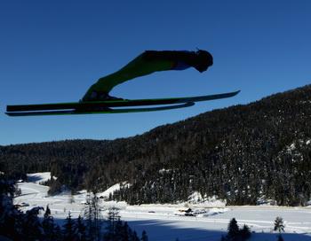 Олимпиада в Инсбруке. Зимние  юношеские  Олимпийские  игры - 2012  начались  в Австрии. Фото: Julian Finney/Getty Images