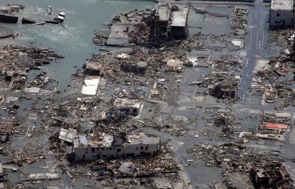 Третий взрыв на втором реакторе «Фукусимы-1» в Японии. Фото:  НОБОРУ HASHIMOTO, PHILIPPE LOPEZ/AFP/Getty Images