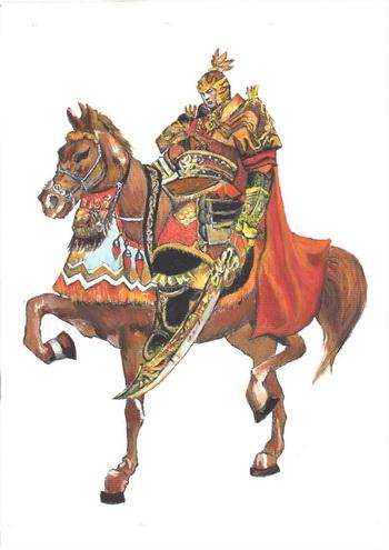 Генерал Хо Цюйбин. Иллюстрация: Кийока Чу/Великая Эпоха (The Epoch Times)