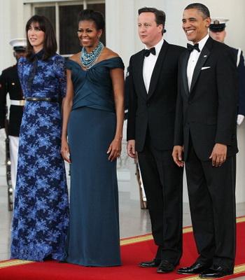 Барак Обама принимает Дэвида Кэмерона. Фото: Getty Images