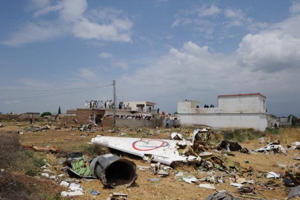 Крушения пассажирского самолёта «Боинг 737» в деревне Хуссейн-Абад. Фото: AAMIR QURESHI/AFP/Getty Images