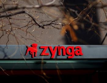 Эмблема Zynga изображена на фронтоне бывшей главной квартиры компании, 9 декабря 2011г., Сан-Франциско, Калифорния. Фото: Justin Sullivan/Getty Images