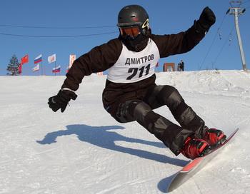 Спартакиада Московской области по сноуборду. Фото предоставлено из пресс-центра Московской области