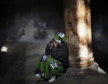 Взрыв бомбы в Нигерии. Фото: MARCO LONGARI/AFP/Getty Images