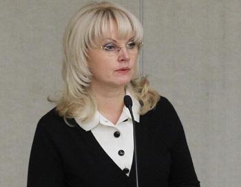 Министр здравоохранения и социального развития Татьяна Голикова. Фото РИА Новости
