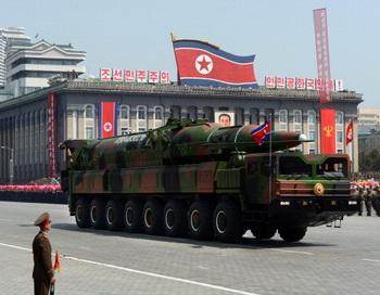 Северокорейские ракеты оказались бутафорией. Фото: PEDRO UGARTE/AFP/Getty Images