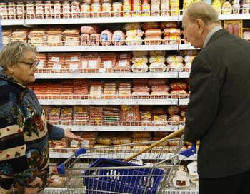 Пенсионеры. Фото из архива РИА Новости