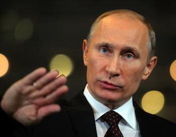Путин обвиняет оппозицию в бесцельности. Фото: STR/AFP/Getty Images
