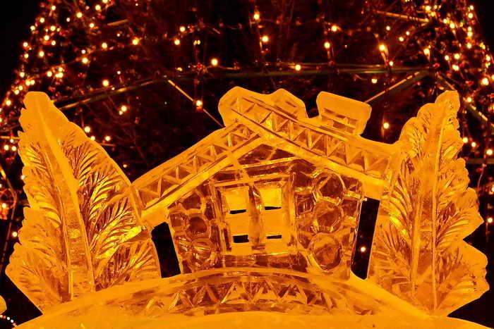 Новогодний Абакан. Городская новогодняя ёлка. Фоторепортаж. Фото: Сергей Тугужеков/Великая Эпоха (The Epoch Times)