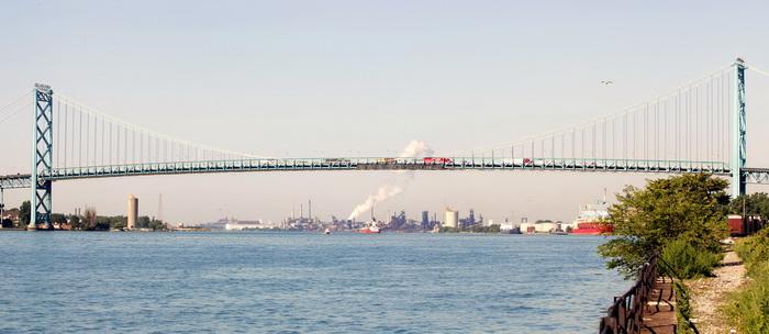 Мост Ambassador Bridge. Фото: Getty Images