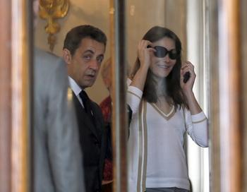Карла Бруни и Николя Саркози. Фото: Getty Images
