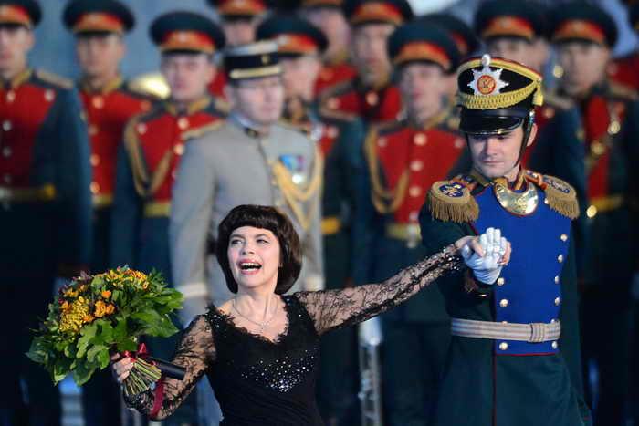 Мирей Матье. Фото: KIRILL KUDRYAVTSEV/AFP/GettyImages