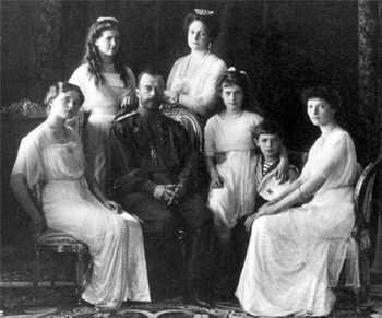 Семья императора Николая II. Фото с сайта pravosakh.ru