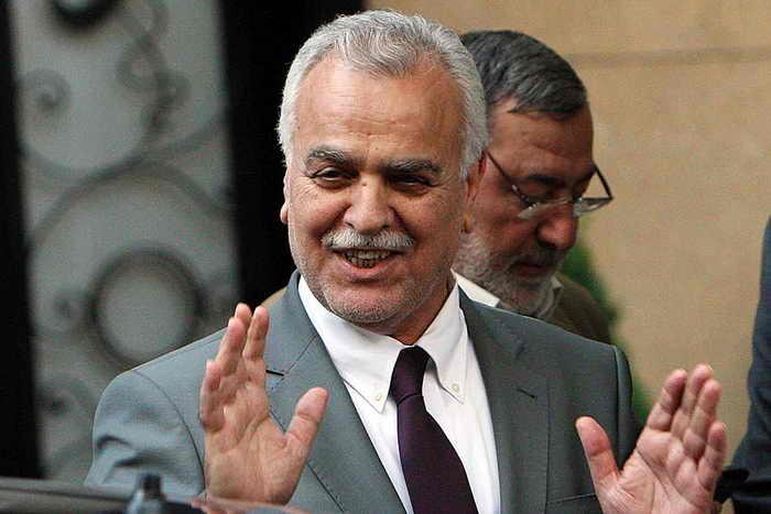 Вице-президент Ирака Тарик аль-Хашеми 9 сентября 2012 г. в столице Турции Анкаре. Фото: ADEM ALTAN/AFP/GettyImages