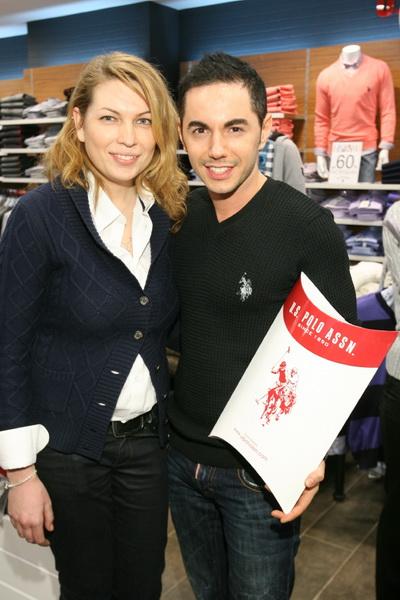 Звездный шопинг в новом бутике «U.S. Polo». Фото предоставлено Юлией Пош