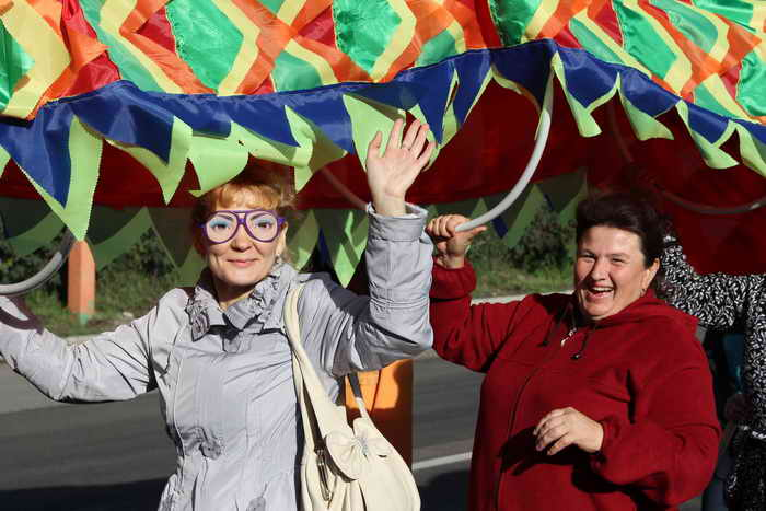 Участники карнавала. Фоторепортаж. Фото: Николай Ошкай/Великая Эпоха (The Epoch Times)
