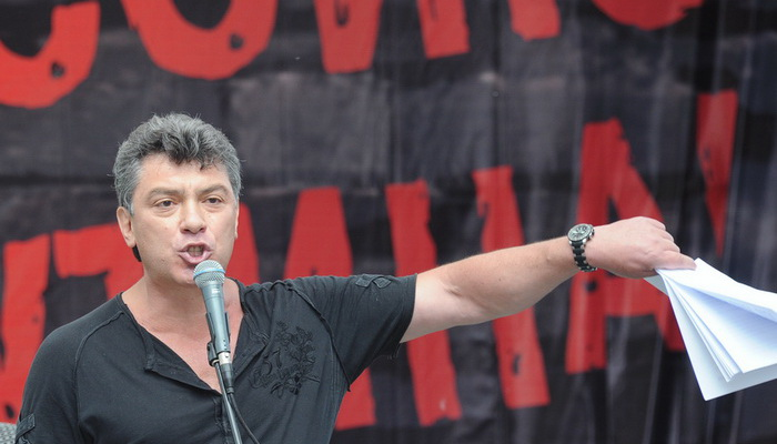 Бывший первый вице-премьер Борис Немцов. Фото: ALEXANDER NEMENOV/AFP/GettyImages