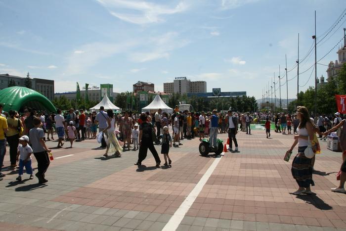 Центральная площадь г. Улан- Удэ. Фото: Доржи Гомбоев/Великая Эпоха (The Epoch Times)