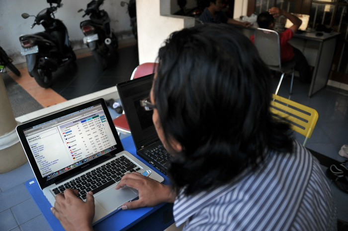 Хакеры. Фото: BAY ISMOYO/AFP/GettyImages
