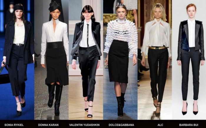 В сезоне весна-лето 2013 блузка признана фаворитом гардероба всеми кутюрье. Фото с сайта trendofstyle.com
