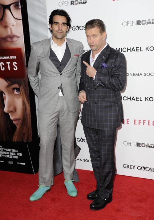 Стивен Болдуин (П) на премьере фильма «Побочные эффекты» в Нью-Йорке, 31 января 2013 года. Фото: Dave Kotinsky / Getty Images