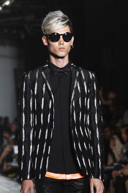 Бренд Ryushu представил мужскую коллекцию 2014 на Неделе мужской моды в Париже 30 июня 2013 года. Фото: Julien M. Hekimian/Getty Images