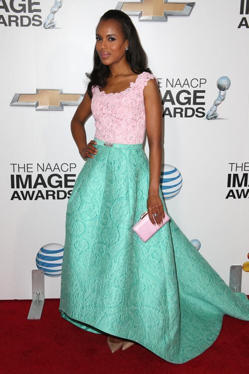 Керри Вашингтон на вручении NAACP Image Awards 1 февраля 2013 года, Калифорния, США. Фото: Frederick M. Brown/Getty Images for NAACP Image Awards