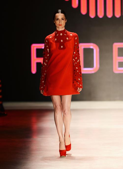 Коллекция Red Beard представлена на Неделе моды Mercedes Benz. Фото: Ian Gavan/Getty Images