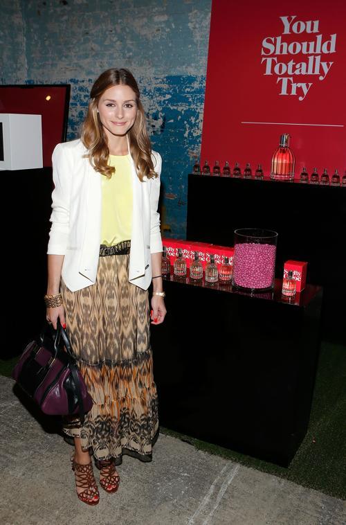 Оливия Палермо на презентации весенней коллекции See By Chloe 2014 в Нью-Йорке. Фото: Jemal Countess/Getty Images