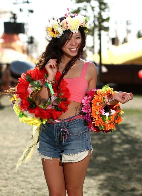 Ариана Пой на фестивале Coachella. Фото: Christopher Polk / Getty Images for Coachella