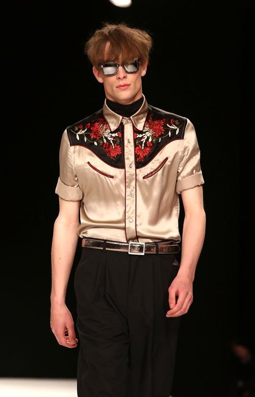 Показ новой мужской коллекции Topman Design 16 июня 2013 года. Фото: Tim P. Whitby/Getty Images