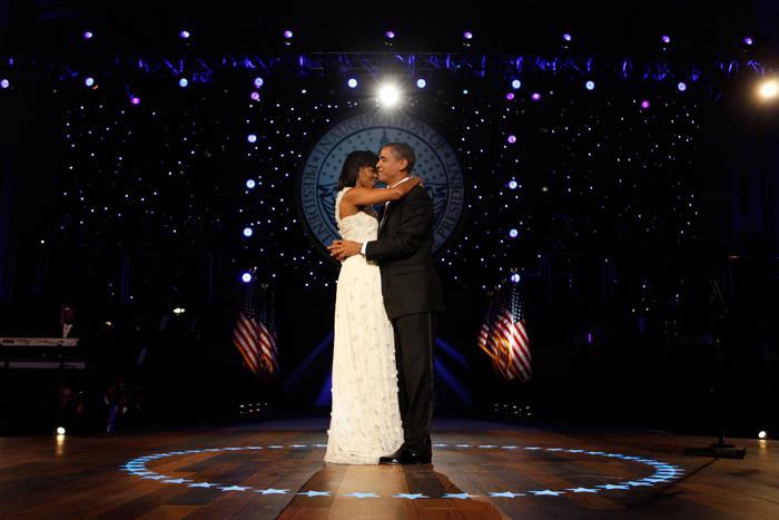 Президент Барак Обама и первая леди Мишель Обама на балу, 20 января 2009 года, Вашингтон. Фото: Chip Somodevilla/Getty Images