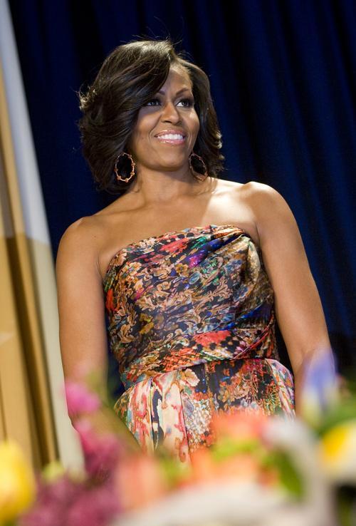Президент Барак Обама и первая леди Мишель Обама в Белом доме, 28 апреля 2012 года, Вашингтон. Фото: MANDEL NGAN/AFP/Getty Images