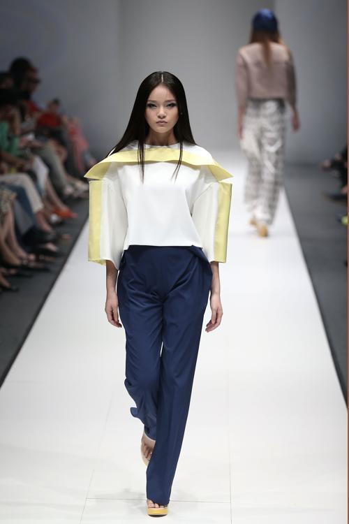 Азиатские коллекции представили на Неделе моды Audi в Сингапуре. Фото: Chris McGrath/[Getty Images for Audi Star Creation