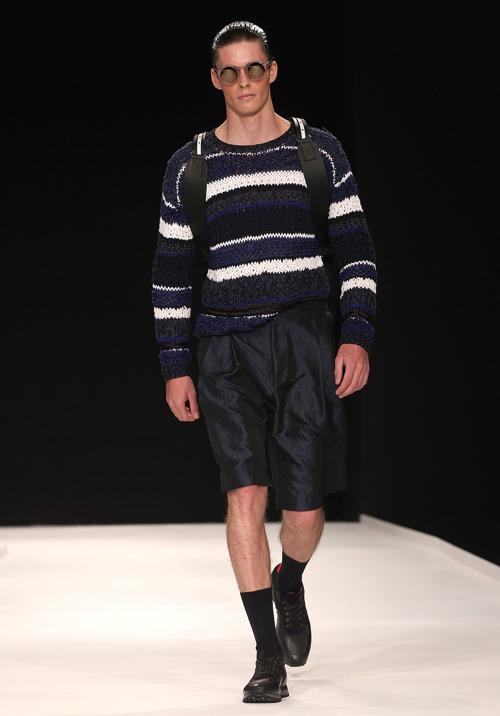 Коллекция James Long весна-лето 2014 представлена на Неделе мужской моды SS 14 в Лондоне. Фото: Danny E. Martindale/Getty Images