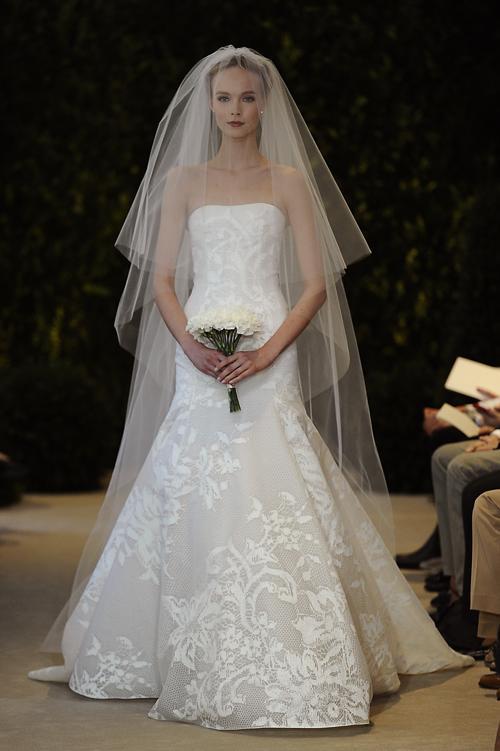 Дизайнер Carolina Herrera представила свадебную коллекцию 2014. Фото: Fernanda Calfat/Getty Images