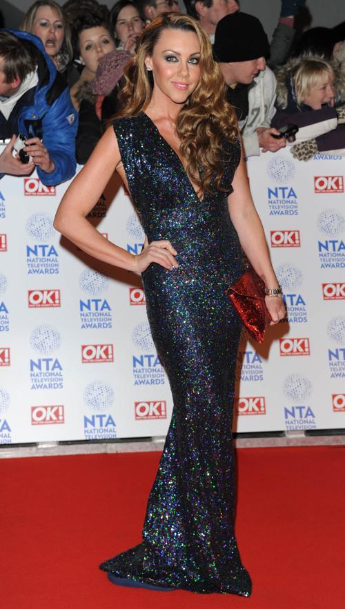 Модель и певица Мишель Хитон на церемонии вручения премии National Television Awards в Лондоне, 23 января 2013 года. Фото: Stuart Wilson / Getty Images