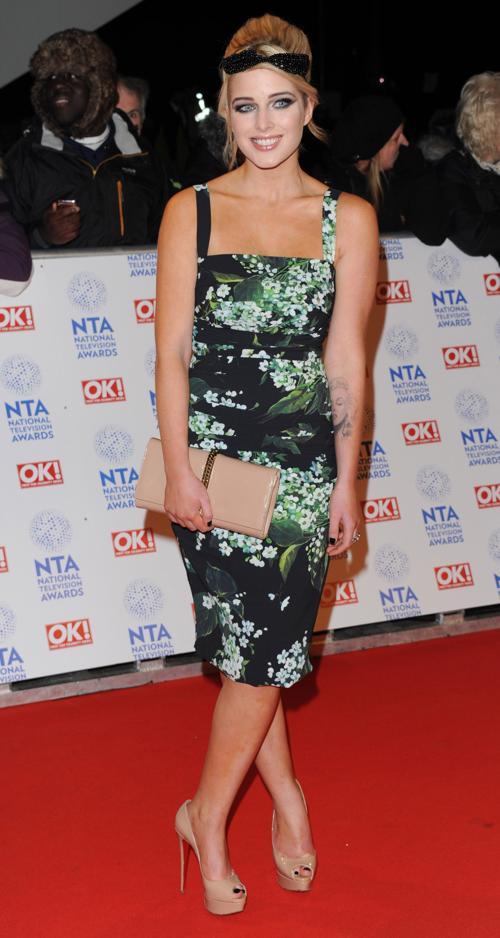 Елена Фланаган (Helen Flanaghan) на церемонии вручения премии National Television Awards в Лондоне, 23 января 2013 года. Фото: Stuart Wilson / Getty Images