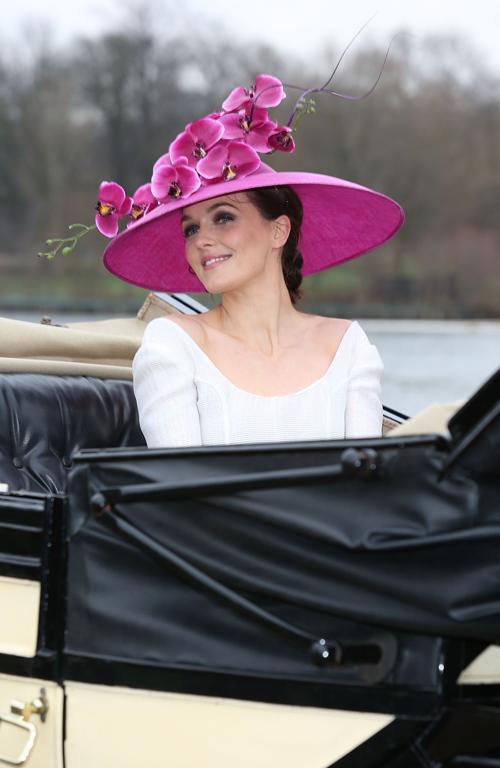 Виктория Пендлтон запускает имиджевую копанию Royal Ascot 2013 «Цвет и слава» в лондонском Гайд-парке 24 января 2013 года Фото: Tim Whitby / Getty Images