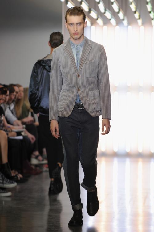 Модный бренд Diesel представил мужскую коллекцию 2014 на миланской неделе мужской моды. Фото: Pier Marco Tacca/Getty Images