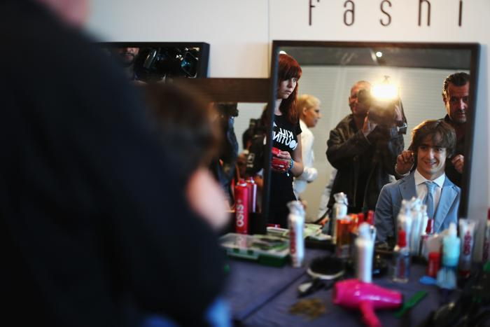 Эстебан Гутьеррес, пилот Sauber Формулы 1, участвует в модном показе Amber Lounge в Монте-Карло. Фото: Mark Thompson/Getty Images
