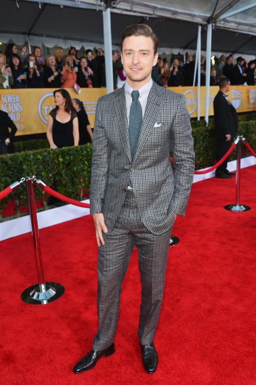 Джастин Тимберлейк на церемонии вручения премии гильдии киноактёров США, 27 января 2013 года, Лос-Анджелес. Фото: Alberto E. Rodriguez / Getty Images