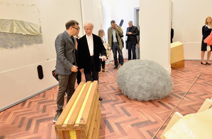Выставка «Когда отношения становятся формой» . Фото: Tullio M. Puglia/Getty Images for Prada