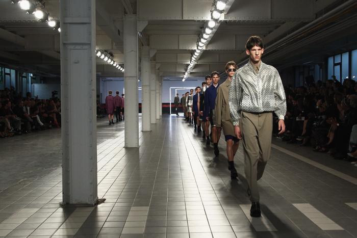Модный французский бренд Damir Doma представил летнюю мужскую коллекцию 2014 года в Париже. Фото: Julien M. Hekimian/Getty Images