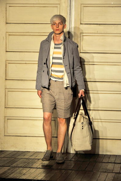 Презентация мужской коллекции Весна 2011 от Билли Рейда на Mercedes-Benz Fashion Week в Нью-Йорке 9   сентября 2010 года. Фото: Joe Corrigan/Getty Images