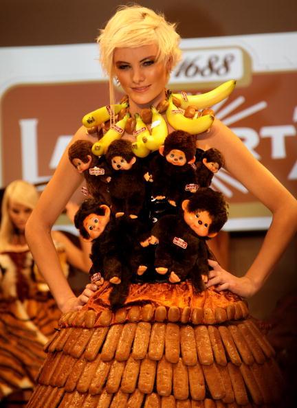 Шоколадные дефиле в рамках  шоу от Lambertz, 31 января 2011, Кельн, Германия. Фото: Andreas Rentz/Getty Images
