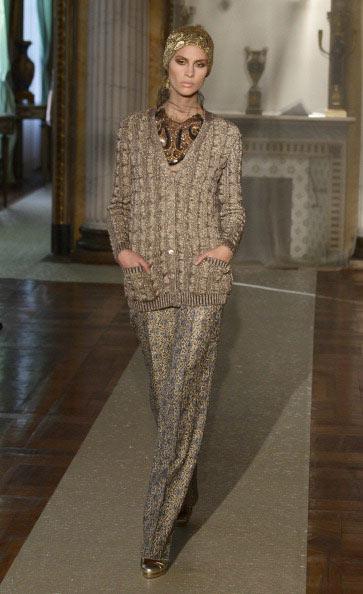 Осень-зима 2011: коллекция Luisa Beccaria , 24 февраля 2011, Милан, Италия. Фото: Vittorio Zunino Celotto/Getty Images