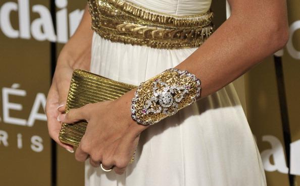 Наряды гостей на вручении престижной международной премии в индустрии красоты журнала Marie Claire –   Prix de la Moda Awards 2010, 25 ноября 2010, Мадрид, Испания. Фото: Carlos Alvarez/Getty Images