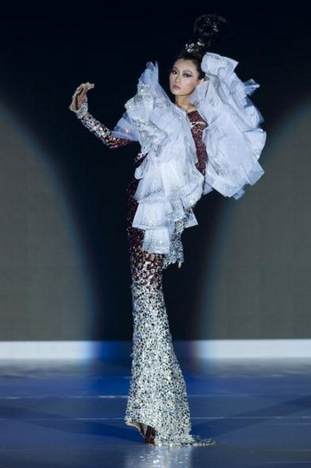Неделя моды «Осень-зима 2010» в  Гонконге. Фото: Виктор Фрайле / Getty Images